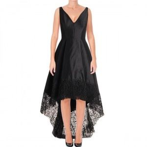 Betsy & Adam High/Low Party Dress